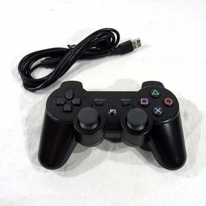 PS3 コントローラー プレステ3 DUALSHOCKワイヤレス互換品 黒