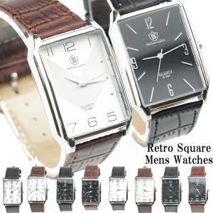 腕時計 メンズ 50代  40代 おしゃれ メンズウォッチ レトロ感がいい感じ オールドテイストウォッチ カジュアル時計 メンズ時計 ビッグフェイス時計  2018|overrag