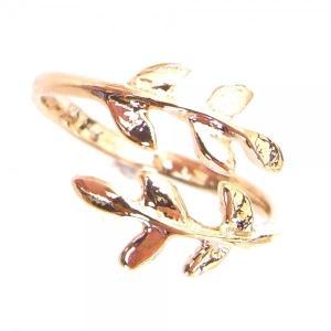 リング 指輪 レディース jewelry 人気 リーフリング...