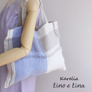 リネン バッグカレリア karelia Lino e Lina リーノエリーナ b78|ovlov