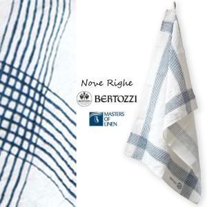 リネン キッチンクロス ノーヴェリーゲ ベルトッツィ bertozzi nove righe BZ012 イタリア製 キッチンタオル|ovlov