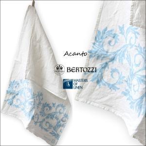 リネン キッチンクロス アカント ベルトッツィ bertozzi acanto BZ072 イタリア製 キッチンタオル|ovlov