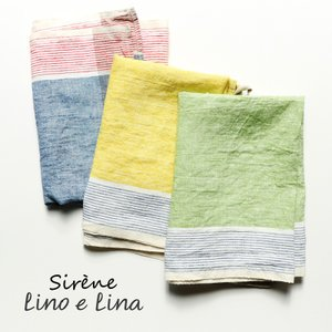 リトアニア リネン キッチンクロス シレーヌ Sirene Lino e Lina リーノエリーナ k333|ovlov