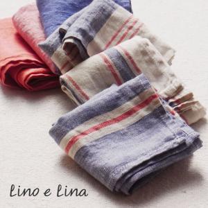 リネン ハンカチ リーニュ リトアニア製 Lino e Lina リーノ エ リーナ|ovlov