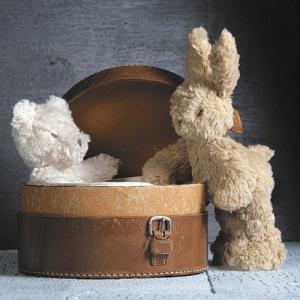 クマ うさぎ ぬいぐるみ ふわふわ ちいさい Ragtales mini bear bunny tales|ovlov