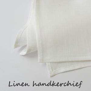 リネン ハンカチ 無地 刺繍用にも最適 ベラルーシ製   シンプル|ovlov|03