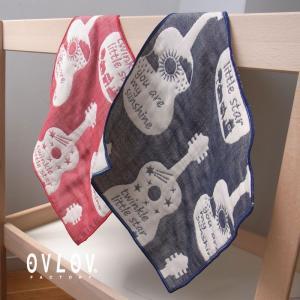 6重ガーゼケット 日本製 ギター 70x100 ベビー ガーゼケット 綿 オリジナルデザイン|ovlov|04