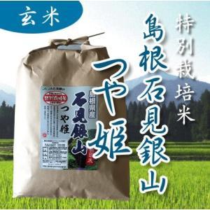 29年産 特別栽培米 島根県石見銀山 つや姫 玄米 1kgの商品画像