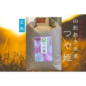 29年産 特別栽培米 山形おきたま産 つや姫 玄米 2kgの商品画像
