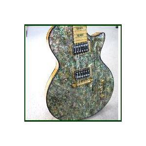 天然アバロン貝エレキギター 【世界1台限定品】|owariya-gakki