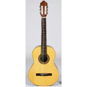 おとなのショートスケールクラシックギター ローズ指板 専用ケースセット スペイン製ドイツ松単板|owariya-gakki