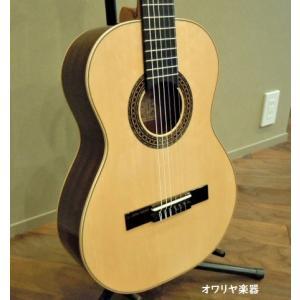 おとなのショートスケールクラシックギター 専用ケースセット スペイン製ドイツ松単板・エボニー指板 owariya-gakki