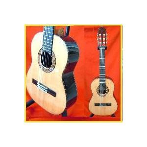 最高級クラス 総単板スペイン製レキントギター【表板シダー】  専用ハードケースセット owariya-gakki