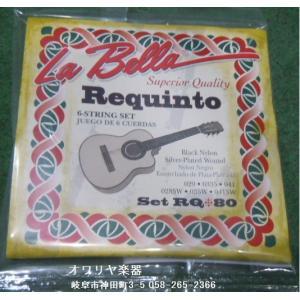 La bella/ラ・ベラ  レキントギター弦 6本1セット|owariya-gakki