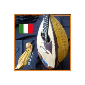 マンドリン イタリア製Bottega【製作証明書付】掘り込みリブ・渦巻きヘッド