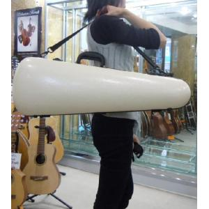バイオリンケース バニラホワイト色 防水・最軽量クラスハードケース|owariya-gakki
