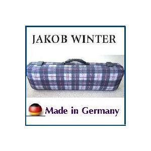バイオリンケース JAKOB WINTER ドイツ製 Caro/チェック  角型・リュック可|owariya-gakki