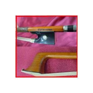 ヴァイオリン弓プロフェッショナル・スペシャル051BLACK HORN ドイツマイスターSteffen Kuhnlaハンドメイド特別製作 1本限定|owariya-gakki
