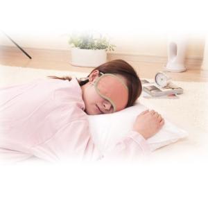 アイマスク 睡眠 あたためほぐしアイマスク ピンク