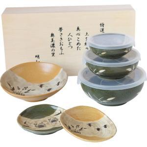神田川俊郎美味彩色バラエティーDX 和陶器 KA-250502 引越し祝い 新築祝い owlsalcove