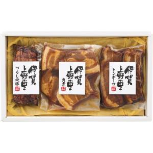 お歳暮 御歳暮 ギフト 伊賀上野の里つるし焼豚&豚角煮セット SA-35A ハム・ソーセージ|owlsalcove
