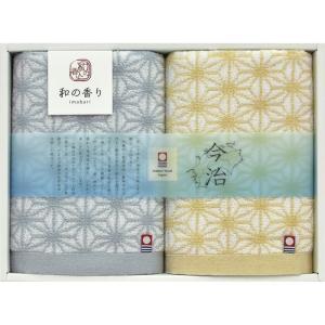 今治製タオル 和の香り フェイスタオル2P WK18200|owlsalcove