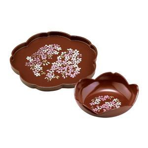 宇野千代 華ざくら 桜菓子鉢桜盆揃 3623072 owlsalcove
