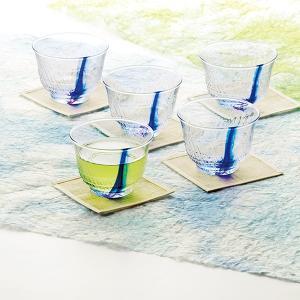 日本製 流舞 冷茶セット G074-T311 グラス 5客セット 内祝い 引き出物 香典 香典返し|owlsalcove