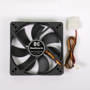 ケースファン DCファン 12cm 25mm厚 静音タイプ PCケース用DCファン 宅C|owltech
