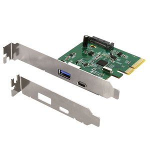USBポート増設 インターフェースボード PCI-Express接続 高速USB3.1(Gen2) USB Type-A USB-Type-C 宅配便|owltech