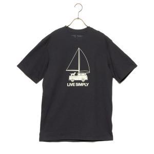 パタゴニア Tシャツ M'S LIVE SIMPLY WIND POWERED RESPONSIBI...