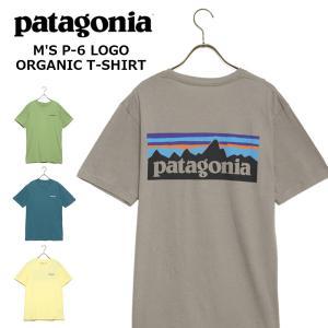パタゴニア Tシャツ M'S P-6 LOGO ORGANIC T-SHIRT ロゴ オーガニック ...