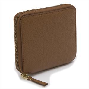 コムデギャルソン 財布 COMME DES GARCONS sa2100ic ユニセックス ファスナー ウォレット 二つ折り ブラウン