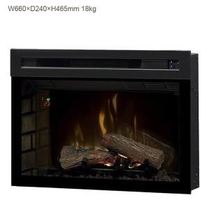 25インチ電気式暖炉 マルチファイヤーXD 送料無料/ディンプレックスカナダ/イタヤランバー/暖炉 温風 暖炉型ヒーター リビング 暖房器具|oxford-c