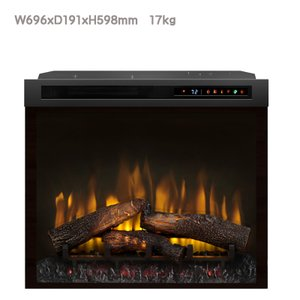 28インチ電気式暖炉 マルチファイヤーXHD ファイヤーウッド 送料無料/ディンプレックスカナダ/イタヤランバー/暖炉 温風 暖炉型ヒーター リビング 暖房器具|oxford-c