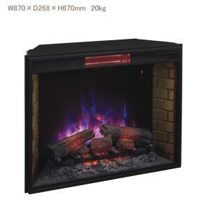 特別割引 定価20%OFF!! 33インチパワーヒート本体 送料無料/LLOYD GRANDE/ロイドグランデ/暖炉 温風ヒーター リビング 輸入家具 暖房器具|oxford-c