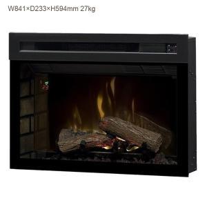 33インチ電気式暖炉 マルチファイヤーXD 送料無料/ディンプレックスカナダ/イタヤランバー/暖炉 温風 暖炉型ヒーター リビング 暖房器具|oxford-c