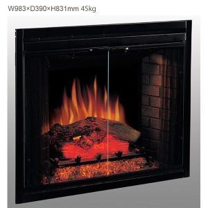 特別割引 定価20%OFF!! 39インチ電気暖炉本体 送料無料/LLOYD GRANDE/ロイドグランデ/暖炉 温風ヒーター リビング 輸入家具 暖房器具|oxford-c