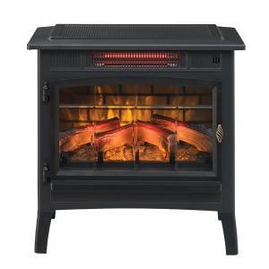 アウトレット/3Dパワーヒート薪ストーブ ブラック 送料無料/LLOYD GRANDE/ロイドグランデ/暖炉 温風ヒーター 暖炉型ヒーター リビング 暖房器具|oxford-c