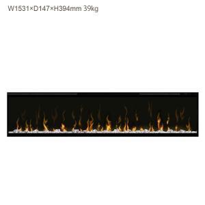 ビルトイン電気式暖炉 60インチ イグナイト マルチファイヤー ディンプレックスカナダ/イタヤランバー/暖炉 温風 暖炉型ヒーター 暖房器具|oxford-c