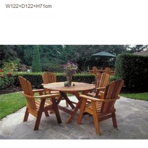 組立キット式ガーデンファニチャー/ダイニングテーブル(大) BC48(パイン材)/送料無料|oxford-c