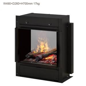 ビルトイン電気式暖炉 オプティミストプロ BOF4056L 送料無料/ディンプレックスカナダ/イタヤランバー/暖炉 温風ヒーター 暖房 オプティミスト|oxford-c