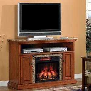 遠赤外線3D電気式暖炉 ブライトン 送料無料/LLOYD GRANDE/ロイドグランデ/暖炉 温風ヒーター 暖炉型ヒーター リビング 暖房器具|oxford-c