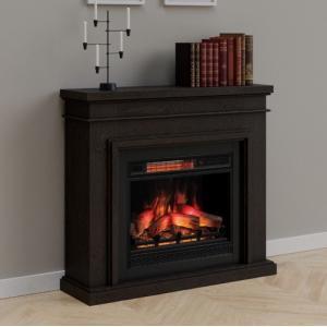 遠赤外線3D電気式暖炉 ブリストル ウェンジ 送料無料/LLOYD GRANDE/ロイドグランデ/温風ヒーター 暖炉型ヒーター 暖房器具|oxford-c
