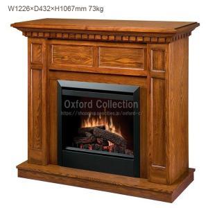 【送料無料】電気式暖炉 キャップライス オーク /ディンプレックスカナダ/暖炉 温風 暖炉型ヒーター リビング 暖房器具|oxford-c