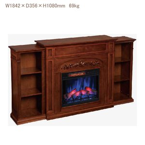 電気式暖炉 シャンティ(3Dパワーヒートタイプ)/オータムオーク/送料無料/LLOYD GRANDE/ロイドグランデ/暖炉 温風ヒーター 暖炉型ヒーター oxford-c