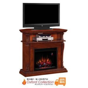 電気式暖炉 コリンス ビンテージチェリー 送料無料/LLOYD GRANDE/ロイドグランデ/暖炉 温風ヒーター 暖炉型ヒーター リビング 暖房器具|oxford-c