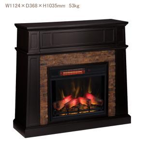 電気式暖炉 クレストウィック(3Dパワーヒートタイプ)/送料無料/LLOYD GRANDE/ロイドグランデ/暖炉 温風ヒーター 暖炉型ヒーター 暖房器具 oxford-c