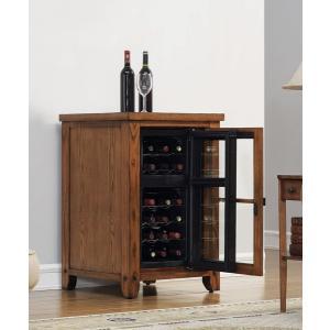 ダコタ ワインキャビネット プレミアムオーク送料無料/保冷機能付 家庭用ワインセラー|oxford-c
