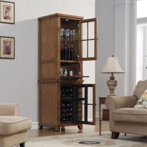 ダコタ ワインピアー プレミアムオーク送料無料/保冷機能付 家庭用ワインセラー|oxford-c